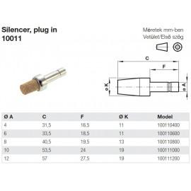 10011 Push-in hangtompító