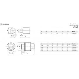 Fojtó-hangtompító T20